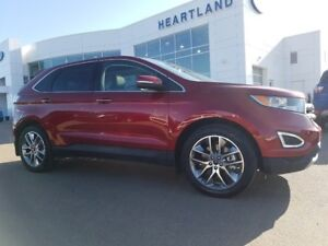 2017 Ford Edge Titanium-NO ACCIDENTS REPORTING, ONE OWNER, FULL