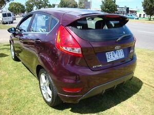 2012 Ford Fiesta WT Zetec PwrShift Phantom Purple 6 Speed Sports Automatic Dual Clutch Hatchback Dandenong Greater Dandenong Preview