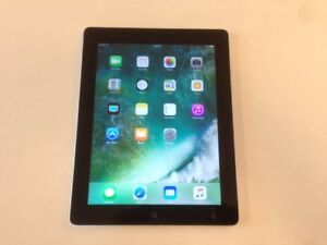 Excellent 64GB Black Apple iPad 4 - WiFi + Cellular 4G LTE - GPS