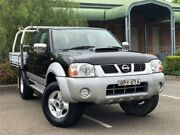 2010 Nissan Navara D22 ST-R UTILITY DUAL CAB 4DR MAN 5SP 4X4 2.5DT Black Manual Utility Mount Druitt Blacktown Area Preview