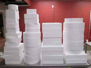 Lot of Styrofoam Cake Dummies London Ontario image 1
