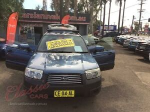 2006 Subaru Forester MY06 XS Blue 4 Speed Auto Elec Sportshift Wagon Lansvale Liverpool Area Preview
