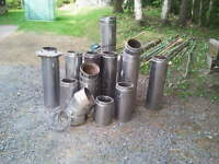 STAINLESS STEEL INSULATED CHIMNEY PIPES