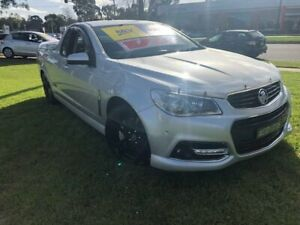2015 Holden Ute VF MY15 SS V Ute Redline Silver 6 Speed Manual Utility Ferntree Gully Knox Area Preview