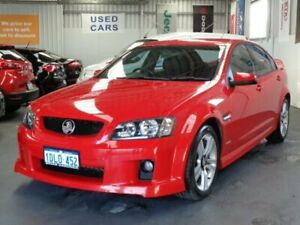 2010 Holden Commodore VE II SV6 Red 6 Speed Sports Automatic Sedan Rockingham Rockingham Area Preview