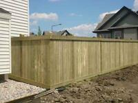 PRESSURE TREATED WOOD FENCING AND DECKING-COMPOSITE