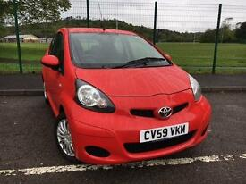 Toyota AYGO 1.0 VVT-i AYGO+ 2009 59 *VERY LOW MILES, LOW RATE FINANCE AVAILABLE*