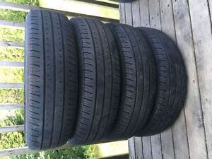 Four P175/70R14 Summer Tires