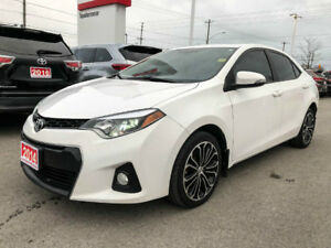 2014 Toyota Corolla S UPGRADE-SUNROOF+ALLOYS AND MORE!