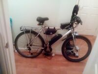 Lithium Powered - Twist and Go Electric Alloy Ebike - Nice E Bike - Hard to get like this !