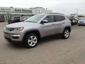 2018 Jeep Compass AWD with Bluetooth