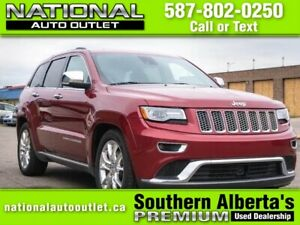 2014 Jeep Grand Cherokee Summit Summit- DIESEL - HEATED LEATH...