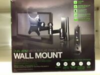 Flat screen wall mount, for up to 23 inch screens