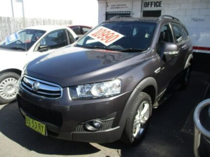 2013 Holden Captiva CG Series II MY12 7 AWD CX Grey 6 Speed Sports Automatic Wagon Broadmeadow Newcastle Area Preview