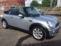 2007 MINI CONVERTIBLE COOPER, 1.6, 2 DOOR FULL ELECTRIC ROOF ***BARGAIN***