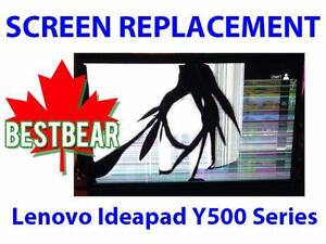 Screen Replacment for Lenovo Ideapad Y500 Series Laptop