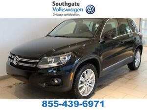 2017 Volkswagen Tiguan Comfortline | Leather | Sunroof | Heated