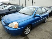 2003 KIA RIO CERTIFY,EMISSION TEST 3YEARS P-T WARRANTY AVAILABLE Mississauga / Peel Region Toronto (GTA) Preview