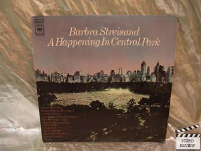 Barbra Streisand A Happening In Central Park Vinyl Album Columbia