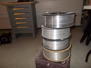 4 NEW Spools of MIG Wire