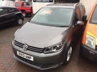 7 seater automatic diesel vw touran