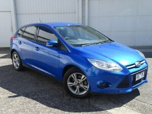 2013 Ford Focus LW MkII Trend PwrShift Blue 6 Speed Automatic Hatchback Bundoora Banyule Area Preview