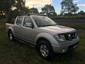 2010 Nissan Navara D40 ST (4x4) Silver 6 Speed Manual Dual Cab Pick-up Mayfield East Newcastle Area Preview