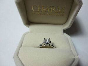 .71ct princess cut Canadian diamond solitaire (brand new) Kitchener / Waterloo Kitchener Area image 1