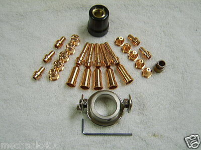 28pc Deluxe Consumable Kit For Eastwood Versa Cut 40 Plasma Cutter Torch