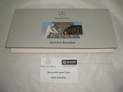 Genuine Mercedes-Benz Duplicate Service Book A2085840193 NEW