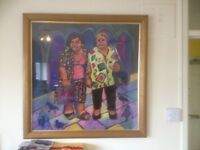 JEAN HARVEY PICTURE OF TWO LADIES