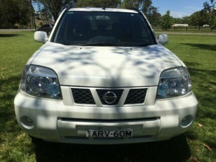 2004 Nissan X-Trail T30 ST (4x4) White 4 Speed Automatic Wagon Tuggerah Wyong Area Preview