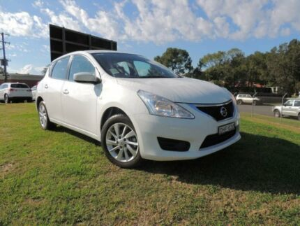 2016 Nissan Pulsar C12 Series 2 ST Polar White Continuous Variable Hatchback