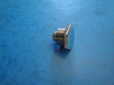 GENUINE TRIUMPH CHROME FORK TOP NUT 97 4258C TR6 T120 T140 BONNEVILLE