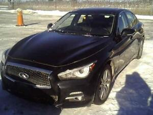 2014 INFINITI Q50 Premium/tech package (AWD)