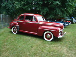1948 Super Deluxe Ford Coupe - rebuilt & in excellent condition