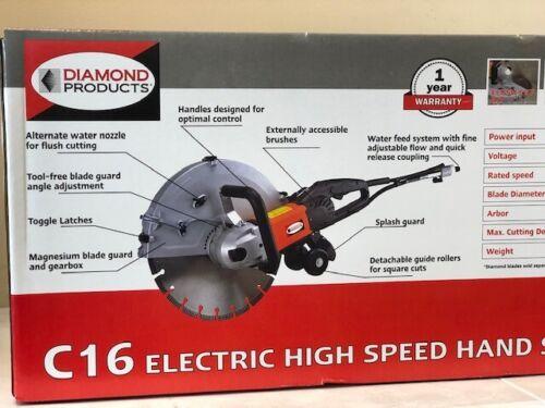 Diamond Products Core Cut C16 Electric Concrete Saw