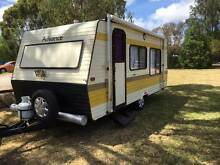 CARAVAN  1987 ADVANCE KOALA 18 FOOT 4 BERTH AIR COND WITH ANNEX A Happy Valley Morphett Vale Area Preview