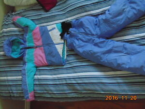 Girls winter jackets and pants size 6X
