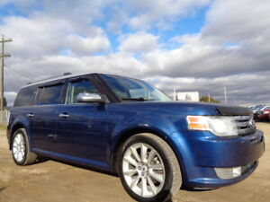 2012 FORD FLEX LIMITED-AWD-LEATHER-SUNROOF-ONE OWNER-AMAZING