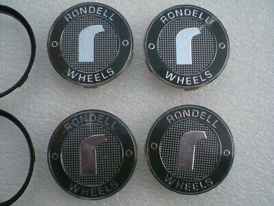 4 x Original Nabenkappe Felgendeckel Nabendeckel Radnabenkappe Rondell Wheels, gebraucht gebraucht kaufen  Deutschland