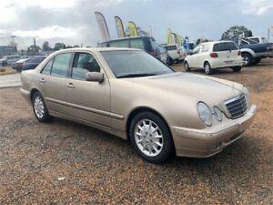 2000 Mercedes-Benz E240 W210 Classic Brown 5 Speed Sports Automatic Sedan Minchinbury Blacktown Area Preview