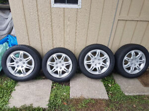 2003 Enkei Acura Tl rims 16'' with tires 205/60