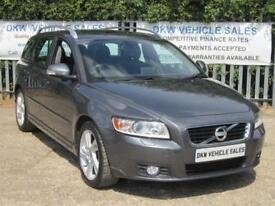 VOLVO V50 1.6D SE LUX EDITION DRIVE ESTATE MANUAL (ALL THE TOYS) STUNNING!!!!!!!