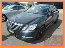 2012 Mercedes-Benz E250 212 MY12 CDI Avantgarde BE Black 7 Speed Automatic G-Tronic Sedan Warwick Farm Liverpool Area Preview