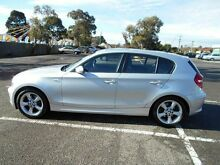 2008 BMW 120I E87 MY07 Upgrade Silver 6 Speed Automatic Hatchback Maidstone Maribyrnong Area Preview