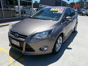 2013 Ford Focus LW MKII Sport PwrShift Lunar Sky 6 Speed Sports Automatic Dual Clutch Hatchback Buderim Maroochydore Area Preview