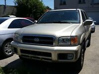2000 Nissan Pathfinder LE-LEATHER SEATS