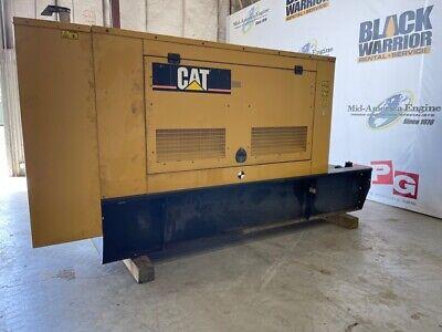 100 Kw Diesel Cat Generator Set Used.