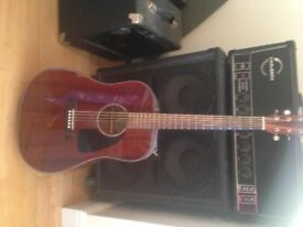 Fender cd 60 acoustic guitar